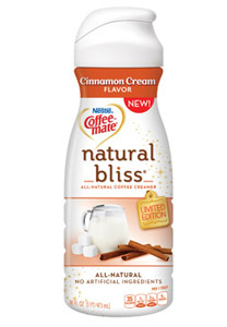 Coffee-mate cinnamon cream