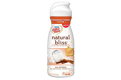 Cinnamon coffee creamer feature