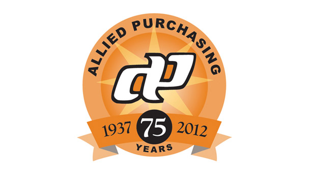 allied purchasing group logo 75 years