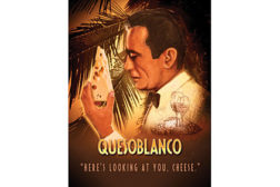 cheese movie poster, quesoblanco
