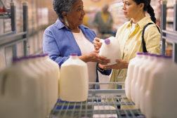 milk shopping