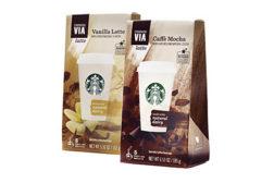 starbucks instant lattes