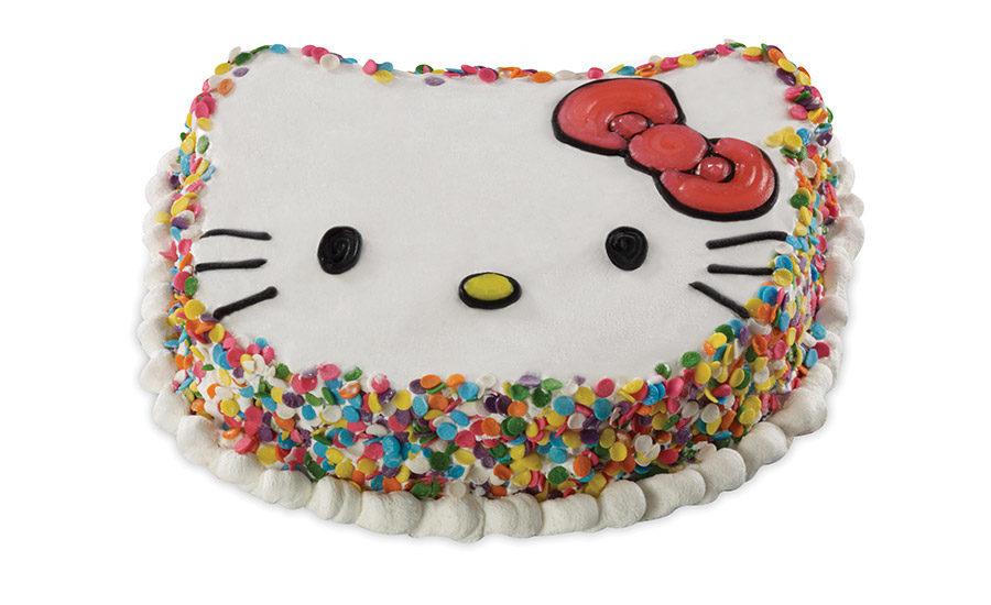 Rich Products Creates Hello Kitty Ice Cream Cake Made With Vanilla