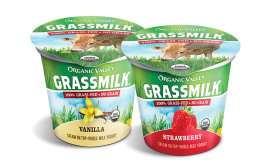 Organic Valley launches grassmilk yogurt in cups
