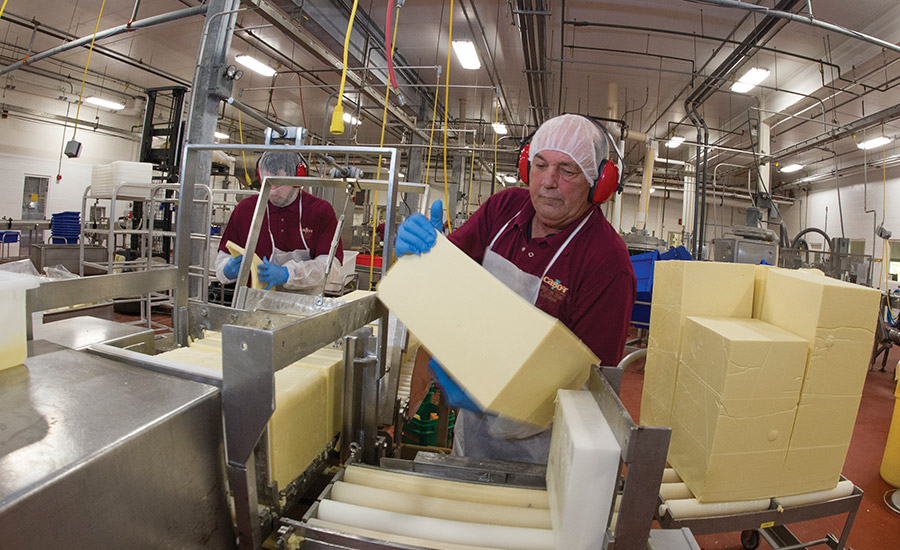 Cabot Creamery is looking sharp: inside the dairy plant