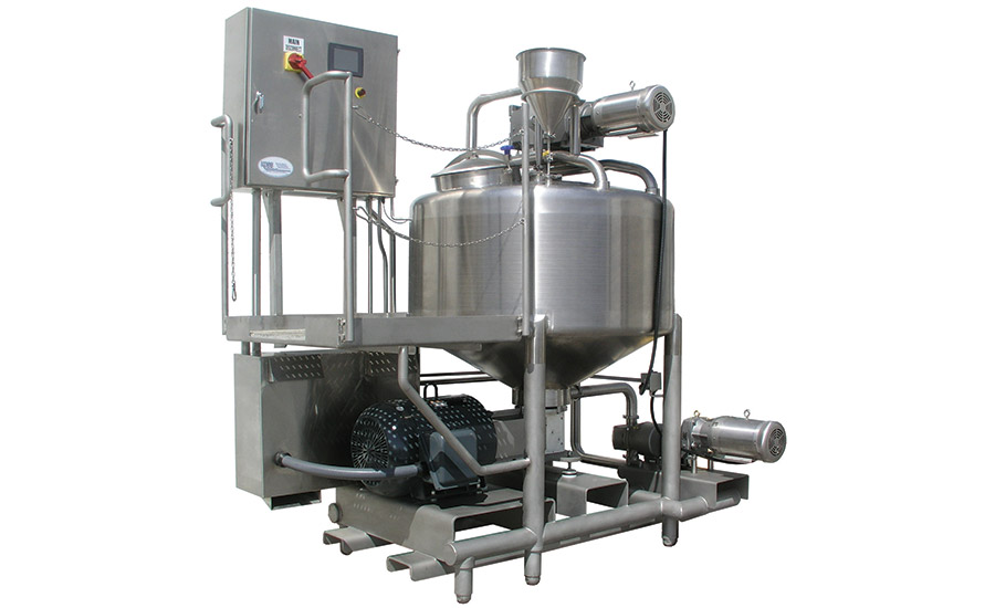 New mixing and blending equipment offers efficiency, consistency