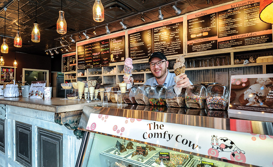 Meet the rock stars of Comfy Cow ice cream