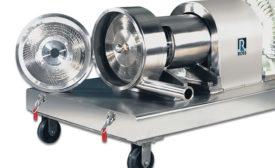 Ross' X-Series CIP-ready ultra-high shear mixer