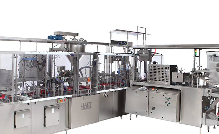 HCC filling line from Hart Design & Manufacturing