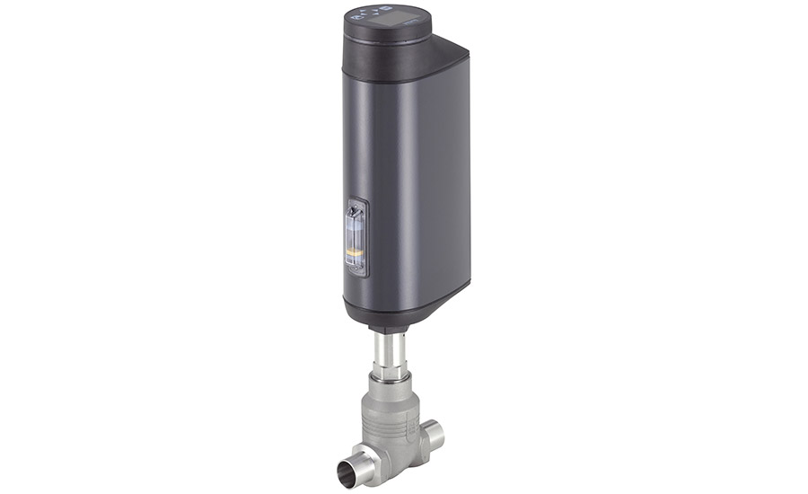 Burkert's actuator, valve is adapted with closed design and robust surface