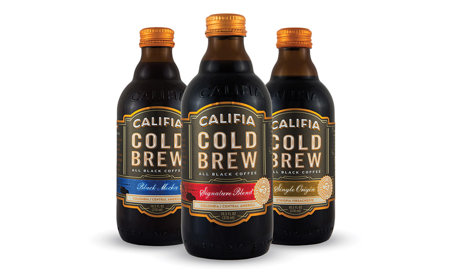 Califia Farms launches a new line of RTD all black, cold brew coffees