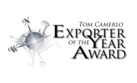 Sartori is the recipient of the 2017 Tom Camerlo Exporter of the Year award