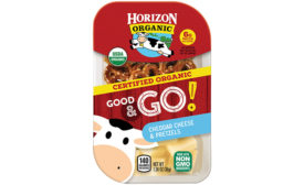 Horizon Organic launches new line of cheese snack packs