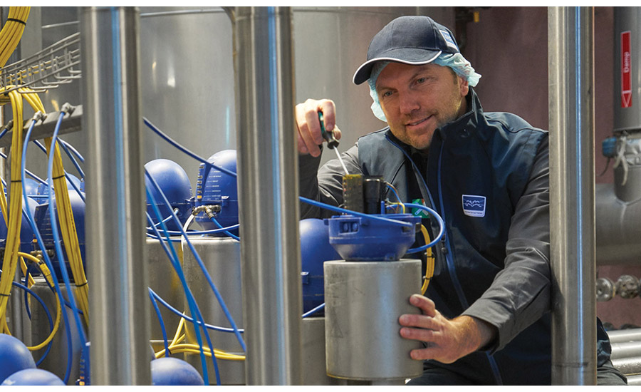 Maximize efficiency and food safety in a dairy plant