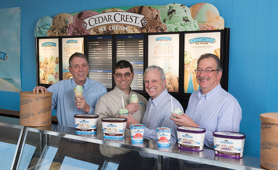 Cedar Crest Ice Cream keeps it old school