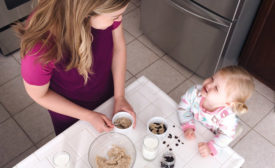 To get kids to drink more milk, start with mom