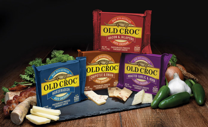 Old Croc adds a line of bold-flavored cheddar cheeses | 2018-02-09
