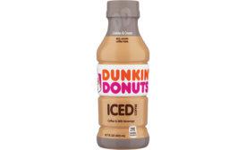dunkin donuts rtd cookies n cream coffee