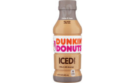 dunkin donuts rtd cookies n cream coffee
