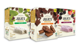 Julie's Organic introduces two ice cream bars