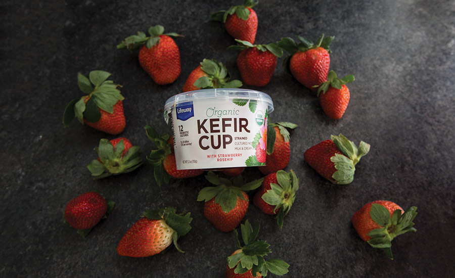 Lifeway Foods introduced farmer cheese and kefir cups in 2016