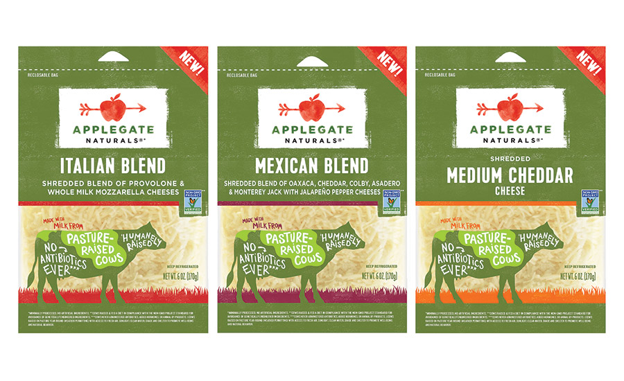 Applegate Farms launches a natural cheese line