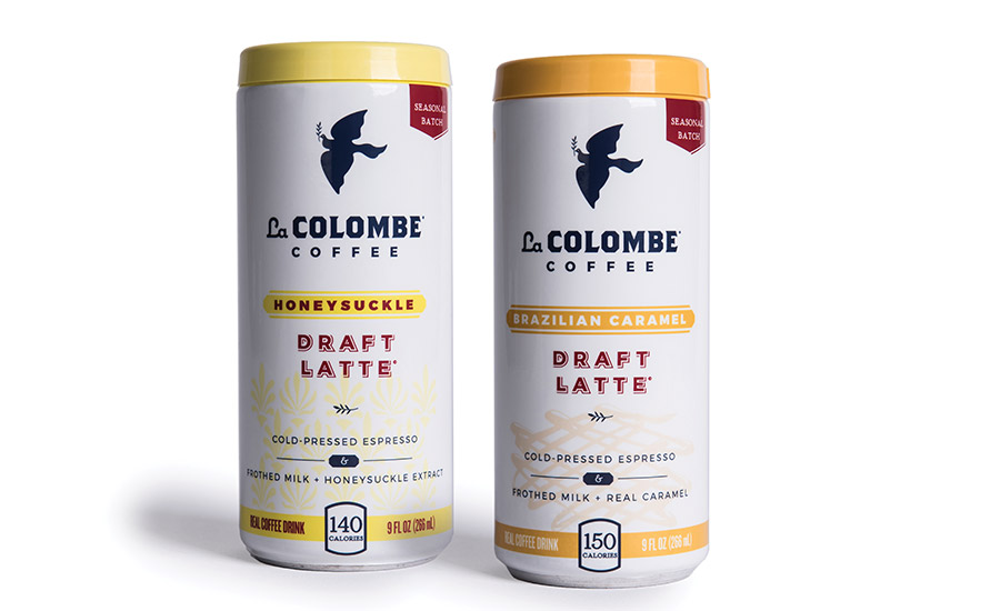La Colombe Coffee Roasters adds three varieties to its RTD coffee/draft latte line