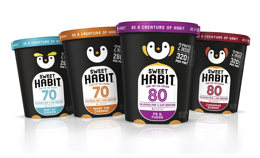 Sweet habit introduces high-protein, low-fat ice cream in quarts