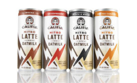 Califia Farms introduces lattes made with 'oatmilk'