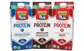 Organic high-protein milk