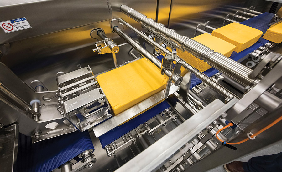 Schreiber Foods' cheese operations are built to impress