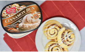 Perry's Ice Cream Co. adds Cinnamon Bun seasonal flavor
