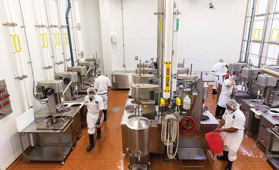 Graeter's ice cream plant is different by design