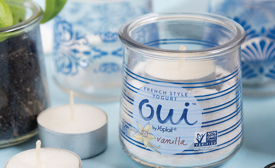 Oui by Yoplait debuts French-inspired glass pot designs
