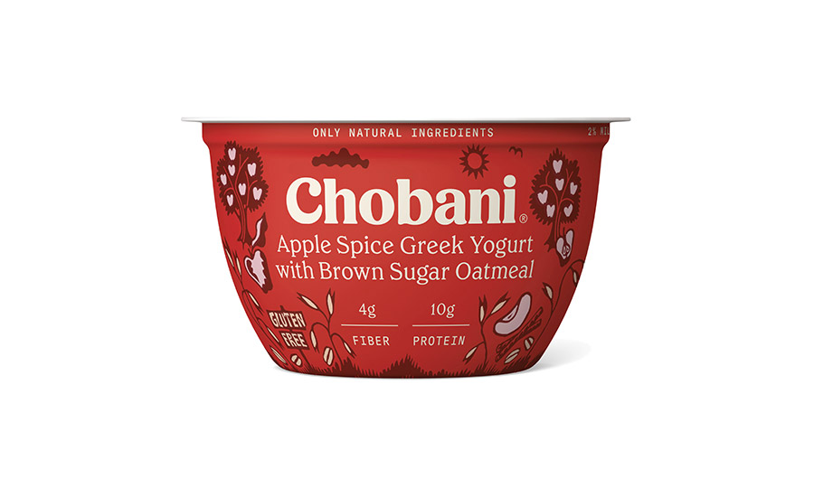 Chobani Greek Yogurt with Oatmeal
