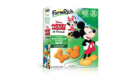 Farm Rich adds Disney-themed frozen mozzarella shapes