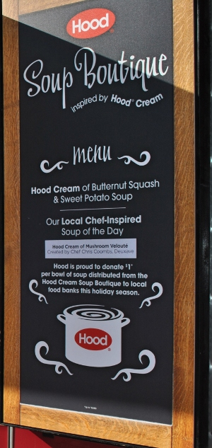 HOOD® PARTNERS WITH TOP CHEFS FOR SOUP BOUTIQUE INSPIRED BY HOOD CREAM
