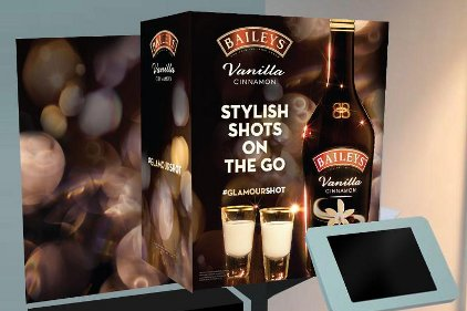 Baileys irish cream photo booth