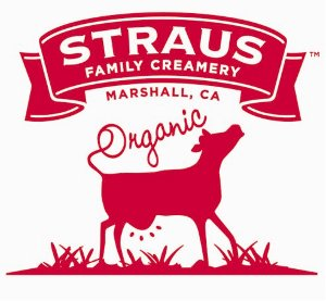 Straus Family Creamery logo BIB milk for foodservice