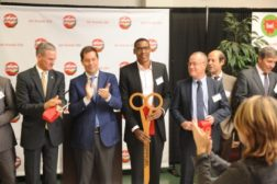 Bel Brands USA cut the ribbon today at its new $144 million cheesemaking plant in Brookings, S.D.