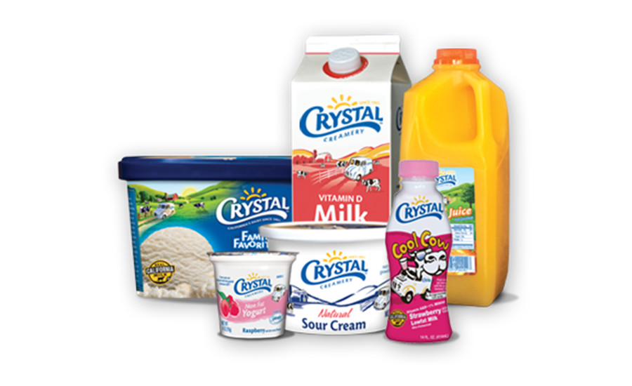 Crystal Creamery products
