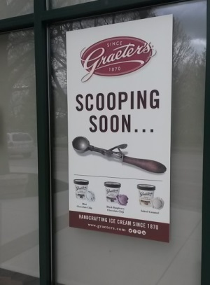 Graeter's ice cream Northbrook Illinois store