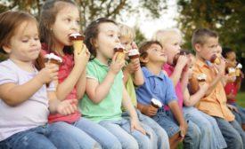 Children eating ice cream courtesy of Velvet Ice Cream