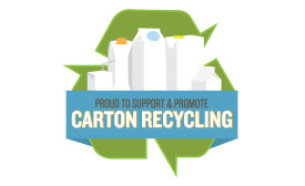 Crystal Creamery recycling logo