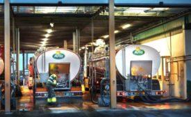 Arla milk tankers see on dairyfoods.com