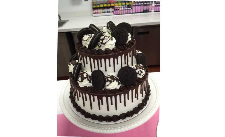 Baskin Robbins Oreo Ice Cream Cake Dairy Foods