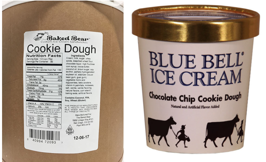 Aspen Hills cookie dough ice cream recall