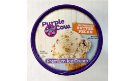 House of Flavors Purple Cow recalled ice cream in January 2016