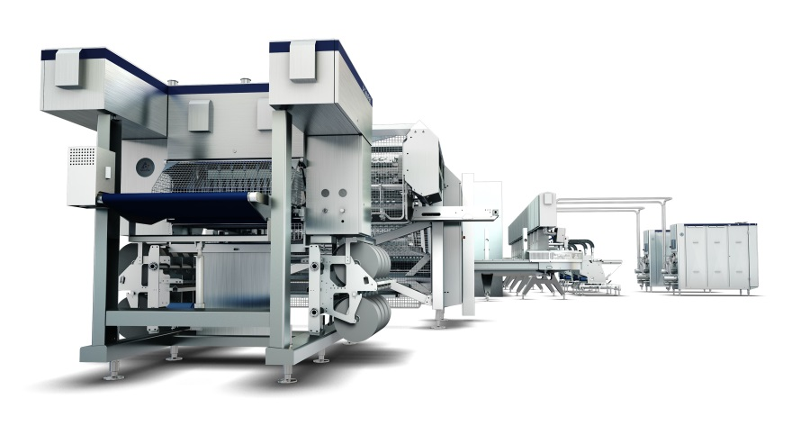 Tetra Pak high-capacity extrusion line for the production of ice cream sticks and sandwiches