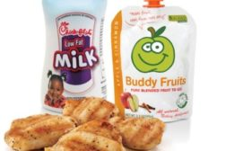 Chick-fil A kids menu includes one percent milk